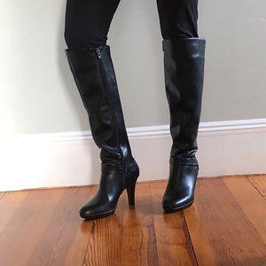 Alfani black high heel boots